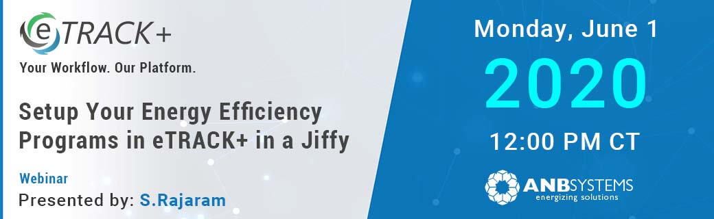 Webinar: Set up Energy Efficiency Program Tracking in 60 minutes